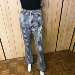 Hounds Tooth TopShop Maternity Pant